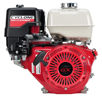 Honda GX engine with Cycone air cleaner