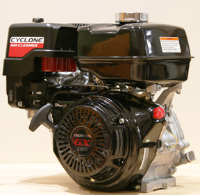 Honda GX series engines with Cyclone air cleaner
