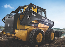 Deere 332 skid steer loader