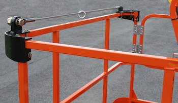 JLG Fall Arrest system close up