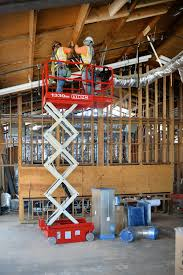 MEC Micro 19 electric scissor lift
