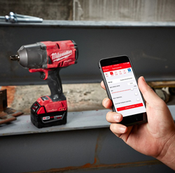 Milwaukee high-torque impact wrenches with One-Key