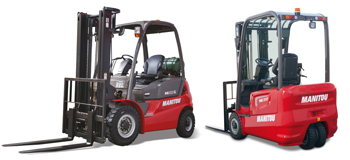 Manitou IC and electric lift trucks