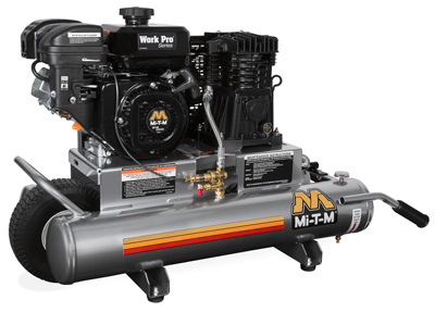 Mi-T-M 8-gallon air compressor
