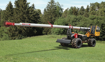 AT75 aerial trimmer from Morbark
