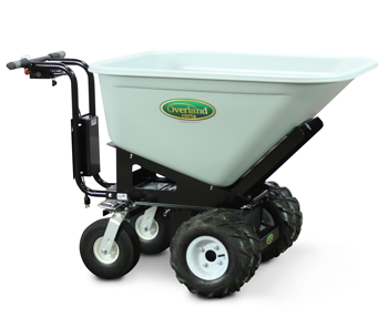 Overland electric wheelbarrow