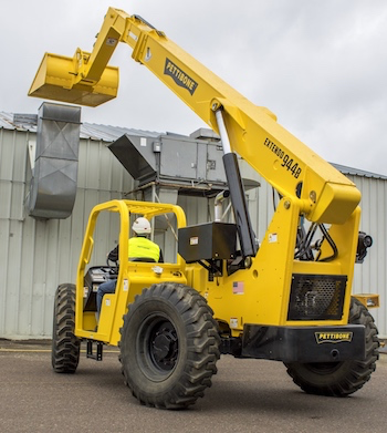 Pettibone Extendo telehandler with 74-hp. engine option