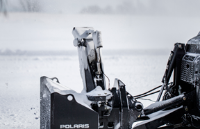 Polaris snow thrower adjustment photo