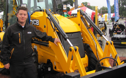 Rafael Nunez, jcb backhoe product manager