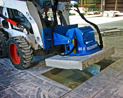 Vacuworx SS2 unit on skidsteer