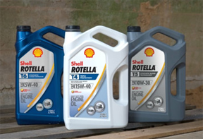 Shell Rotella lubricants