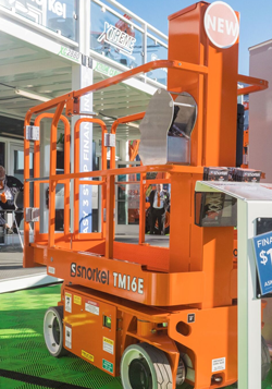 Snorkel TM16E electric scissor lift