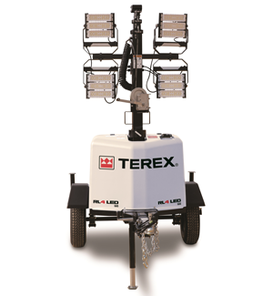Terex RL 4 LED light tower