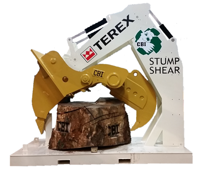 Terex CBi Stump Shear