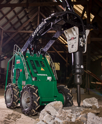 Triple E electric skid steer