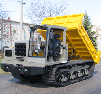 Terramac RT6 crawler crrrier