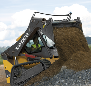 volvo D Series compact track loader