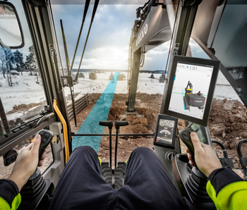 Volvo Dig Assist for excavators