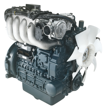 Kubota WG503 spark-ignited engines