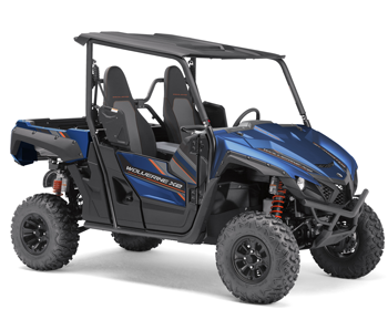 Side by side utility vehicle pro contractor rentals for Top speed of yamaha wolverine side by side