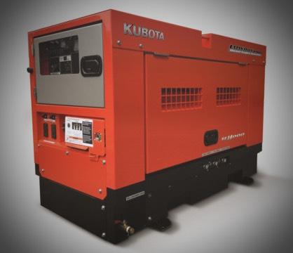 Kubota 16000L generator