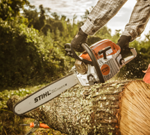 Stihl MS 261 chainsaw