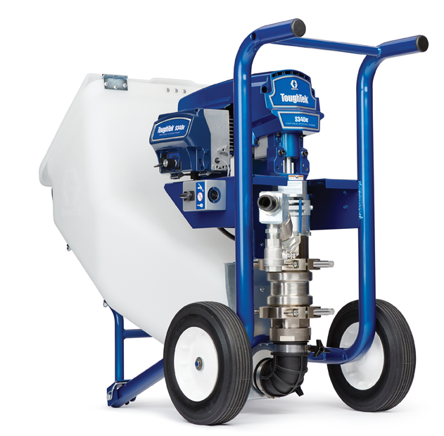 Stucco And Eifs Contractor In Alabama: Graco Showcases New Stucco Pump At INTEX