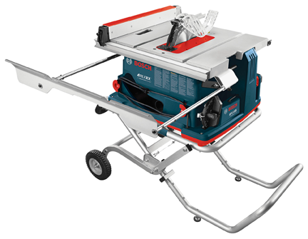 Bosch REAXX portable table saw