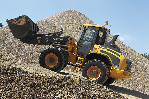 volvo H series wheel loader
