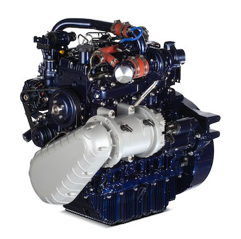 Perkins hybrid electric engine