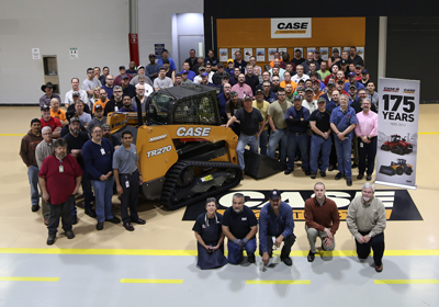 Case 300,000th SS/CTL produced celebration