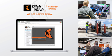 Ditch-Witch online training