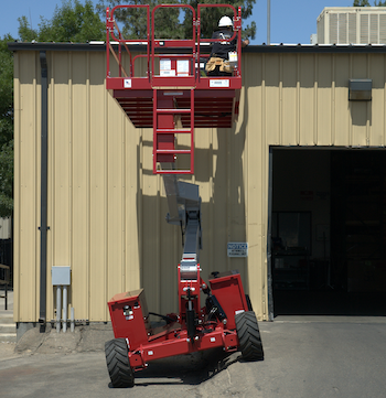 MEC SpeedLevel scissor lift MEWPs