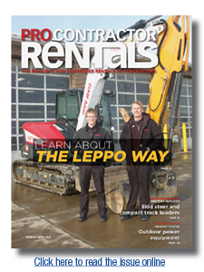 Pro Contractor Rentals magazine March-April 2021