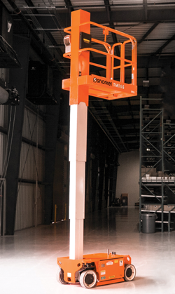 Snorkel 460 SJ telescopic boom lift
