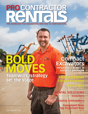 July/August Pro Contractor Rentals
