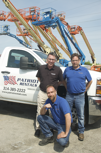 Patriot Rentals and Equipment owners