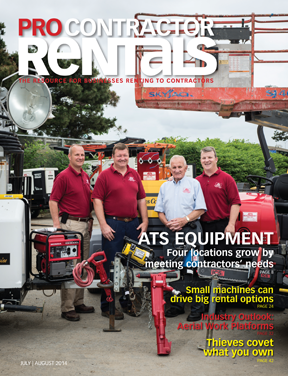 July/August 2014 Pro Contractor Rentals