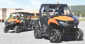 JLG utility vehicles