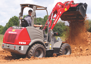 Takeuchi wheel loader