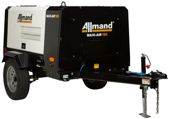Allmand Maxi-Air portable 185 cfm compressor