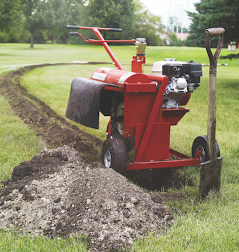 Little Beaver Quik Trench trencher