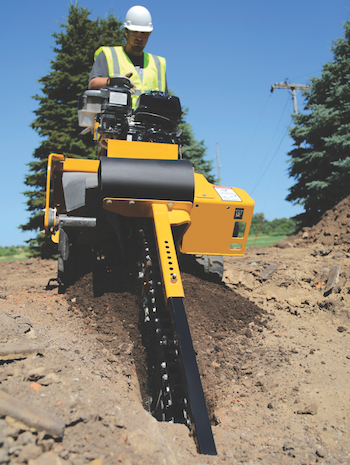 Vermeer RTX series trencher