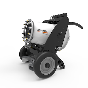 Generac Mobile dust suppression unit