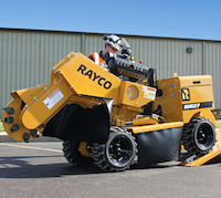 Rayco Super Jr stump cutter