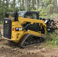 Cat 257 D compact track loader
