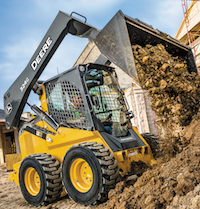 John Deere G324 skid steer loader