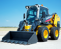 Luigong 385B skid steer loader
