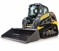 New Holland C245 compact track loader