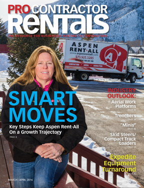 March/April 2016 Pro Contractor Rentals